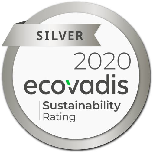 Our corporate social responsibility achievements were awarded the silver medal!